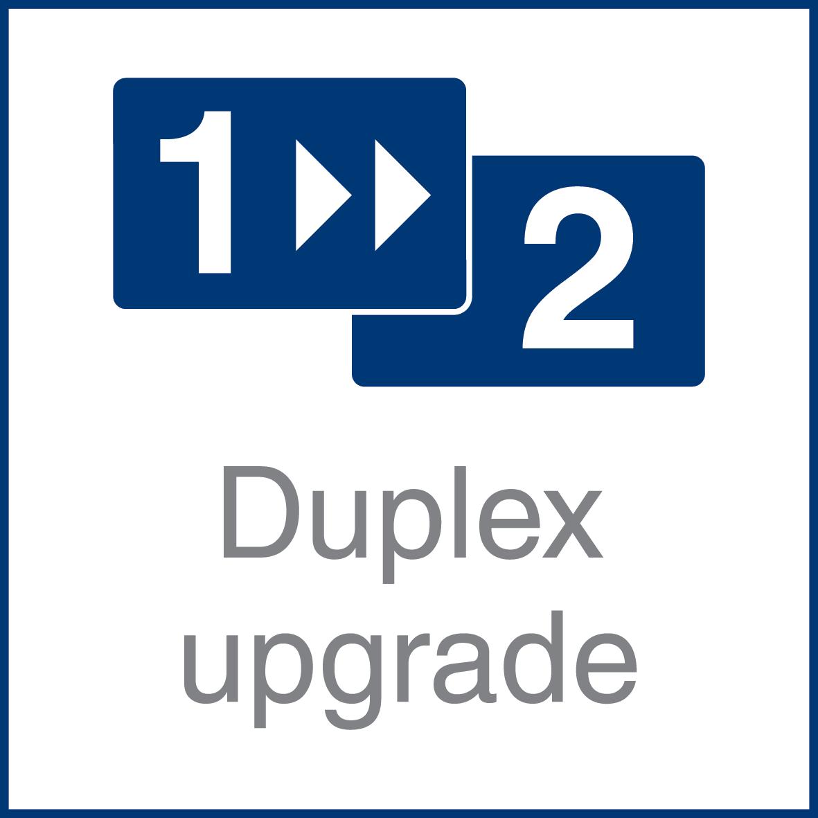 Duplex upgrade icon