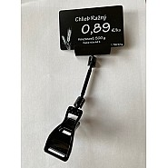 Clip-on price tag holder large with wide label