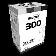 Black monochrome dye film