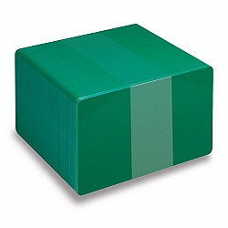 Green PVC cards