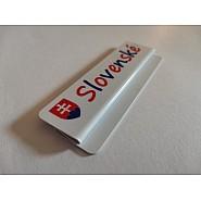 Tags labeled SLOVENSKÉ