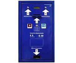 Automaty na výdaj a dobíjanie  kariet