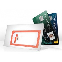 Contactless chip cards