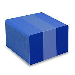Blue PVC cards