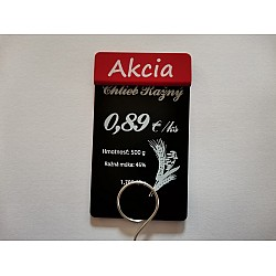 Tags labeled SALE vertical